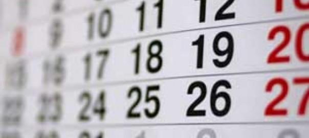 Учебный календарь 2017 года