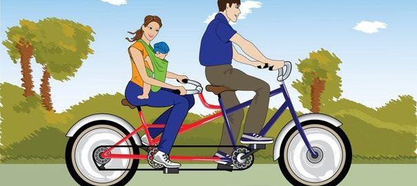 В Винницу на велосипедах-тандемах приедут люди с нарушением зрения