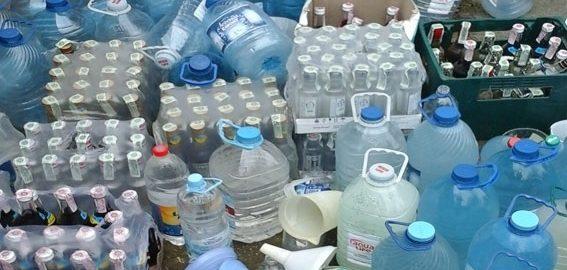 Фальсифицированная водка