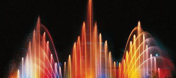 В Виннице жена и сын Президента закрыли шестой сезон фонтана