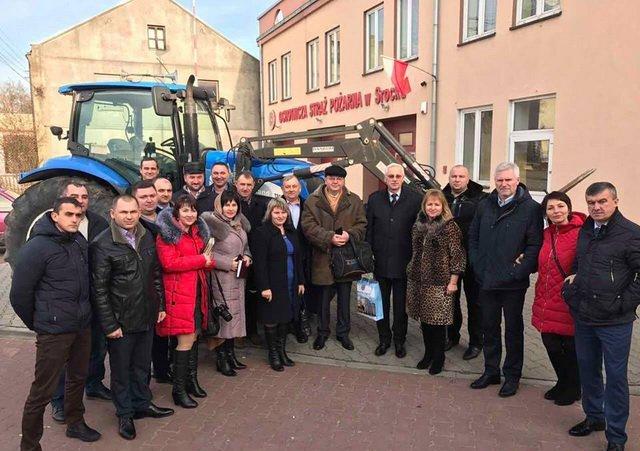 16 сельских председателей Винницкой области изучили опыт польских реформ коллег и готовы его применять