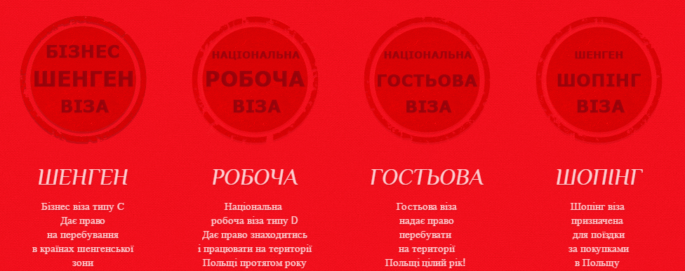 Візи в Польщу та інші країни Європи