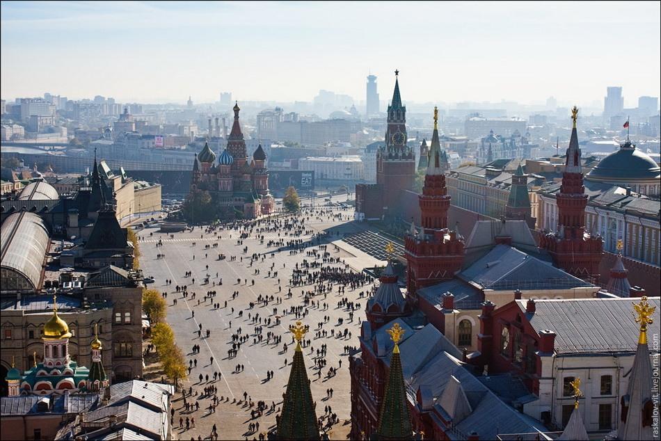 Онлайн экскурсия в Москву. Что посмотреть?