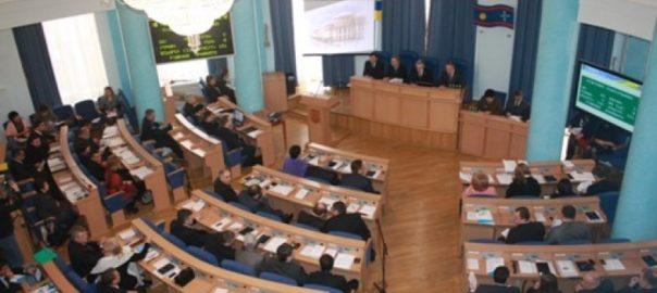 на сессии Винницкого городского совета