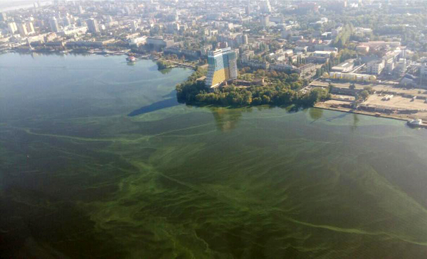 загрязнение реки Днепр