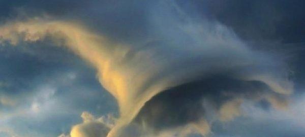 Необычное и почти уникальное явление заметили в небе над Рио-де-Жанейро