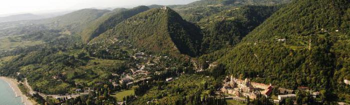 Природа Абхазии: достопримечательности и красивые места