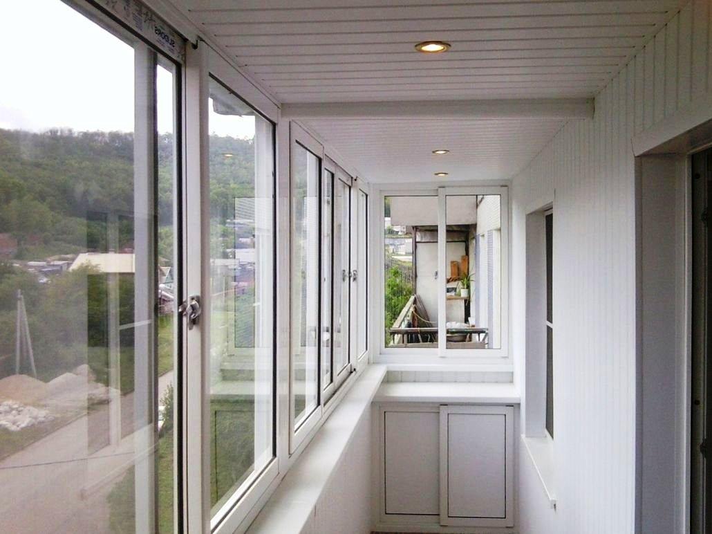 Чем и как лучше застеклить балкон в квартире? - винница.
