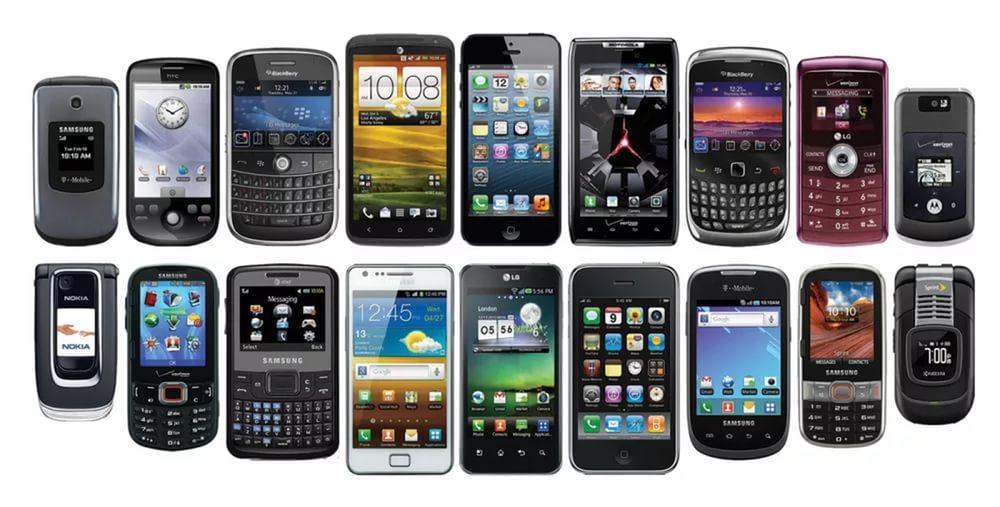 Мобильные телефоны - ретро и реализмом1