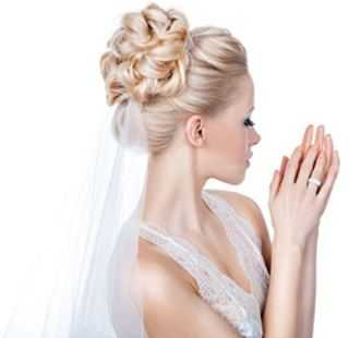 свадебные прически в Виннице