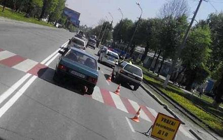 На Хмельницком шоссе в Виннице сбили мать с младенцем