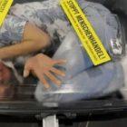 Украинка пыталась вывезти за границу сына в чемодане