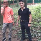 Вор спрятал от полицейских документы в винницком лесопарке. Фото