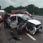Автомобиль пришлось деблокировать, чтобы достать тело погибшего водителя. По следам ужасного ДТП на Винниччине.