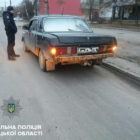 В Виннице нетрезвый водитель, убегая от полицейских, повредил два служебных автомобиля