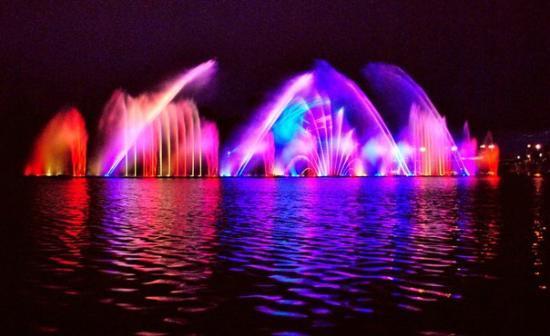 фонтан рошен в виннице