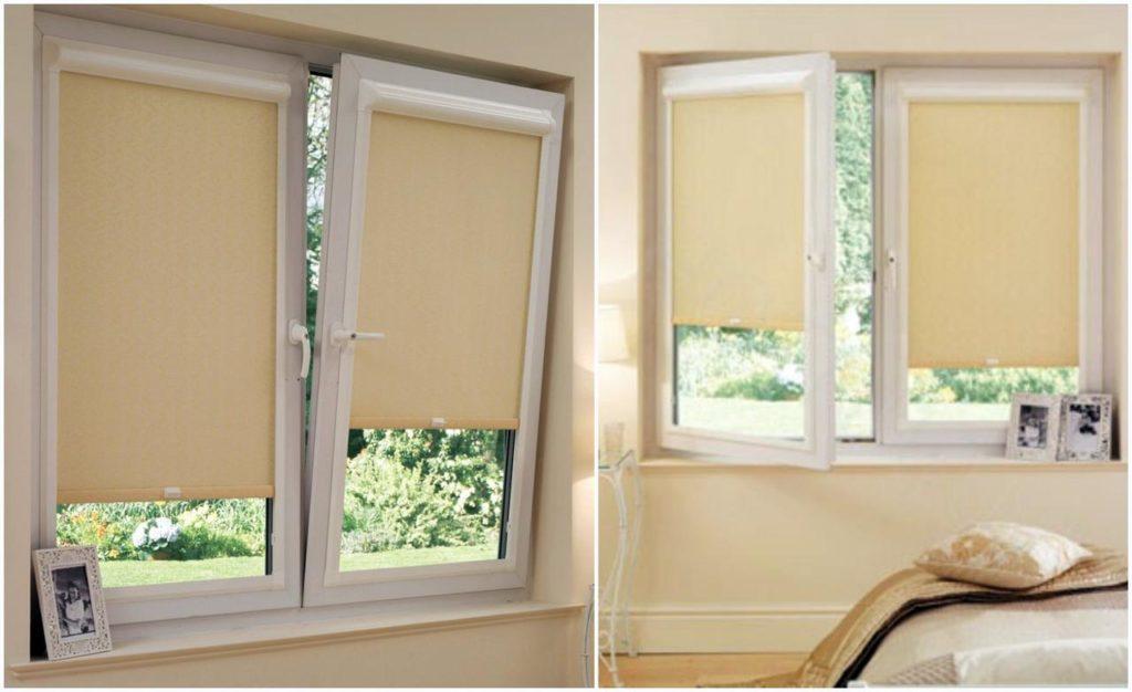 Тканевые ролеты – самый практичный вариант оформления окна
