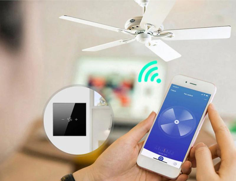 SMART Wi-Fi регулятор скорости вентилятора