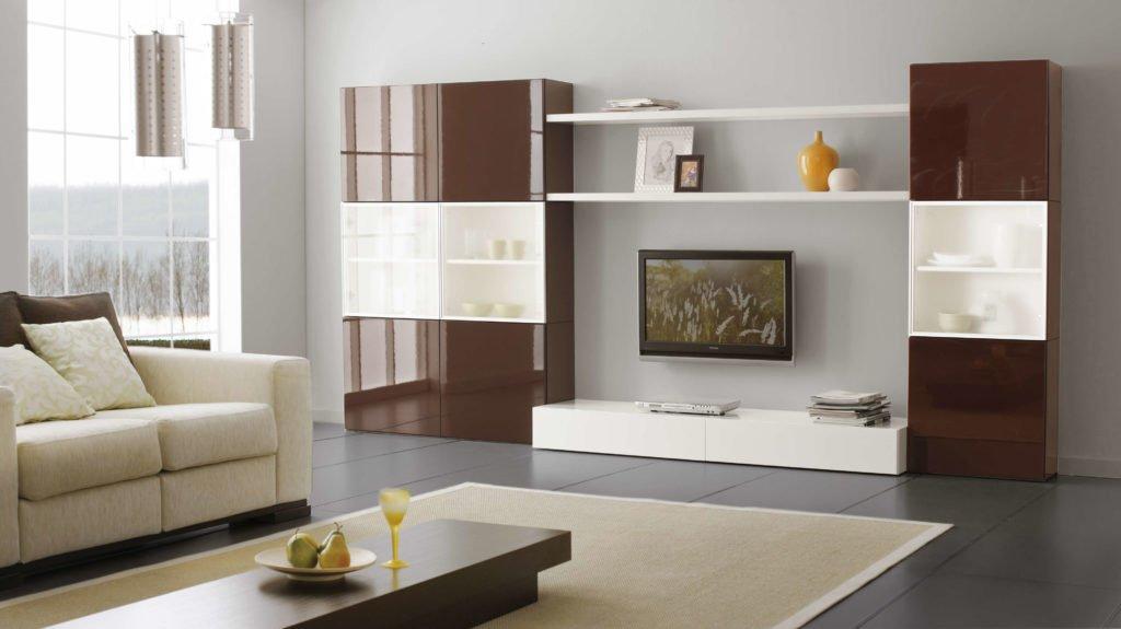 Как выбрать гостиную - современная мебель и предметы винтажные